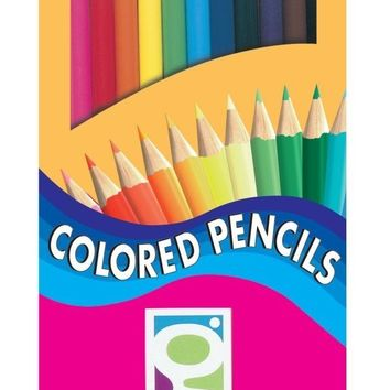 GEDDES 12-Count Colored Pencil Pack - CASE OF 48
