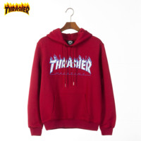 THRASHER trend sells coats of long-sleeved hoodies