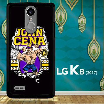John Cena Cenation Cartoon V0479 LG K8 2017 / LG Aristo / LG Risio 2 / LG Fortune / LG Phoenix 3  Case
