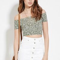 Ditsy Floral Crop Top | Forever 21 - 2000185354