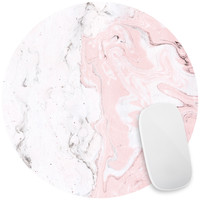 Pink Marble Mouse Pad Decal