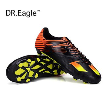 FG Football Boots Cleats indoor soccer shoes men sport football cleats boot Chuteiras futbol voetbalschoenen women Adult & Kids
