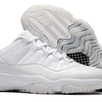 Nike Air Jordan Retro 11 Men Size FROST WHITE HEIRESS PURE PLATINUM With Box