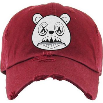 Ghost Baws Maroon Dad Hat