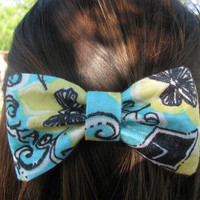 Kappa Alpha Theta Lilly Pulitzer Fabric Bow - MEDIUM