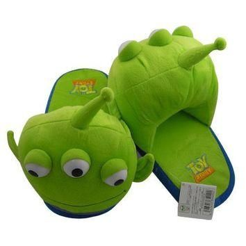 Novelty Cute Squeeze Toy Story Aliens Alien Little Green Men Women Men's House cotton