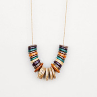 Earth Coconut Necklace,Multi Color Necklace,Summer Fashion