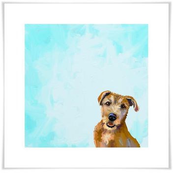 Best Friend - Brown Dog Wall Art