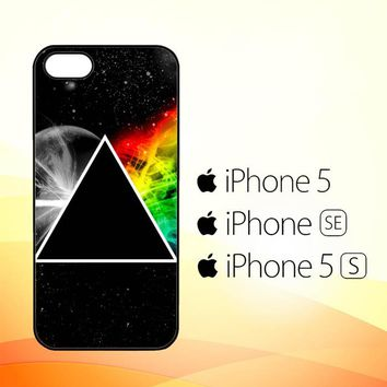 Pink Floyd Prism Rainbows Dark Side Of TheMoon R0181  iPhone 5|5S|SE Case