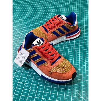 Dragon Ball Z X Adidas Zx 500 Rm Son Goku Boost