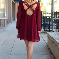 Cranberry Spice Dress