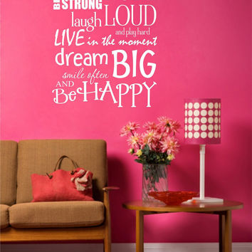Handprints on the wall Wall Art, Wall Decal, Vinyl Decal, Vinyl Wall art Handprints on the wall