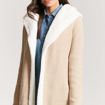 Faux Shearling Cardigan