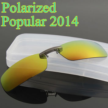 Sunglasses clip plastic clip polarized clip metal rack myopia clip day and night