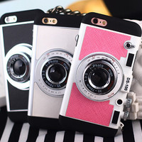 Camera Case Cover for iPhone 7 7Plus & iPhone se 5s 6 6 Plus