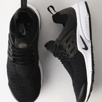 """NIKE""Air Presto Women Men Fashion Running Sport Casual Shoes Sneakers Black white soles B-AA-SDDSL-KHZHXMKH"