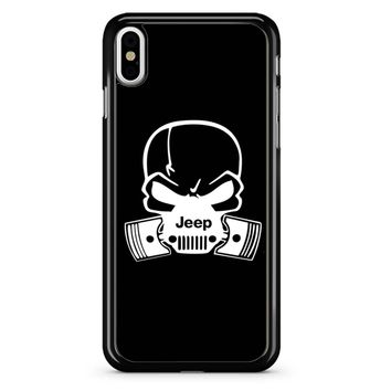 Jeep Skull iPhone X Case