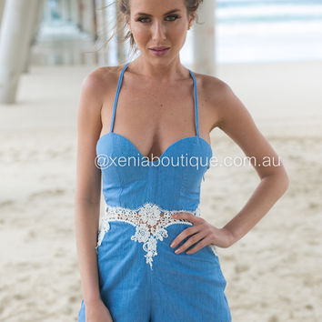Island Dreaming Playsuit
