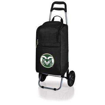 Colorado State Rams Cart Cooler with Trolley-Black Digital Print