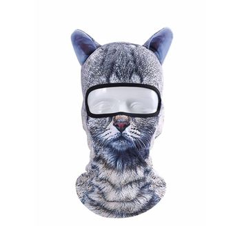 2018 Fashion 3D Animal Ears Balaclavas Bicycle Cycling Ski Hat Cat Dog Full Face Mask Outdoor Sports Cap Beanie Hat