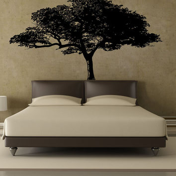 Vinyl Wall Decal Sticker African Tree #1193