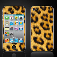 Free Shipping Faux Cheetah Skin looks furry not furry by ItsASkin