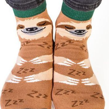 Sloth | FEET SPEAK SOCKS