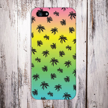 Tye Dye Rainbow x Palm Tree Case for iPhone 6 6 Plus iPhone 5 5s 5c iPhone 4 4s Samsung Galaxy s6 s5 s4 & s3 and Note 4 3 2