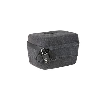 RYOT 2.3L Safe Case Small Carbon Series with SmellSafe Technology in Black