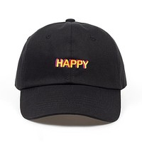 """happy"" dad hat"