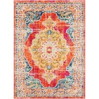 """Morocco Red - 5'3"""" x 7'3"""" Area Rug"""