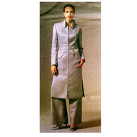 ALEXANDER MCQUEEN GIVENCHY Jacket & Pants Pantsuit Pattern Vogue 2478 Designer Sewing Patterns UnCUT Size 14 16 18 Plus Size French Couture