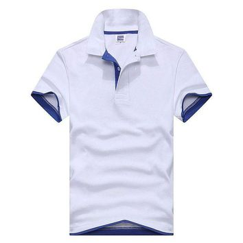 LMFLD1 2018 tommis Brand clothing New Men Polo Shirt Men Business & Casual solid male polo shirt Short Sleeve breathable polo shirt