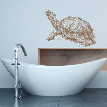 ik1335 Wall Decal Sticker sea turtle sea animals living room bedroom bathroom