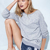 Fleece Slouchy Pullover - Victoria's Secret