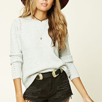 Open-Knit Sweater