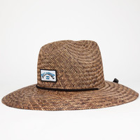 Billabong Patches Mens Lifeguard Hat Brown One Size For Men 25363440001