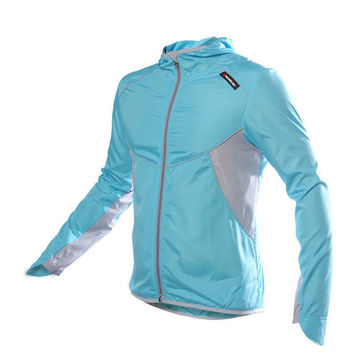 Men Women Cycling Windcoat Bicycle Jersey Sports Windcoat Bike Clothing Running Full Sleeve Jacket Windproof  Waterproof Clothes
