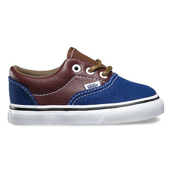 Toddlers Leather/Plaid Era | Shop Toddler Shoes at Vans