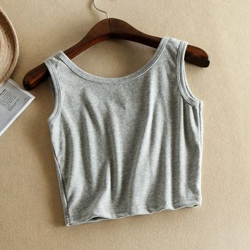 Causal Cotton Crop Top