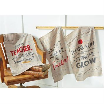 Teacher Dish Towels