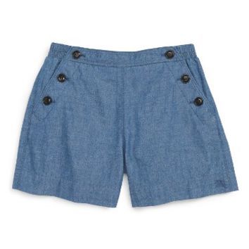 Burberry Etty Shorts (Little Girls & Big Girls) | Nordstrom