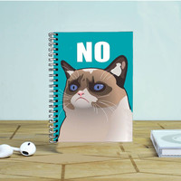 Cactus The Cranky Cat Photo Notebook Auroid