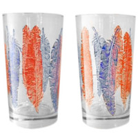 SFG Spitfire Girl Feather Glasses  - Set of 2