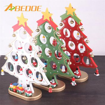 abedoe christmas wooden ornament christmas tree diy christmas ha