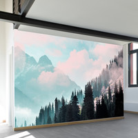 Juxtapose Wall Mural