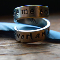Take me to neverland spiral ring