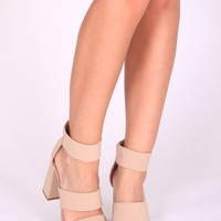 All I Want Nude Heels