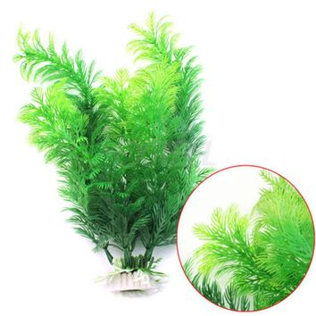 ac NOOW2 Submarine Ornament Artificial Green Underwater Plant Fish Tank Aquarium Decor