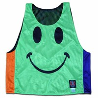 Happy Face Lacrosse Pinnie